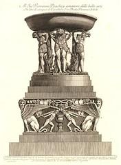 Satyres en Atlantes (Fontaines de Rome) Tags: rome villa fontaine giovanni atlantes piranesi battista albani villaalbani giovannibattistapiranesi satyresenatlantes saryres