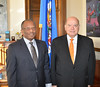 Secretary General Receives Foreign Minister of Haiti