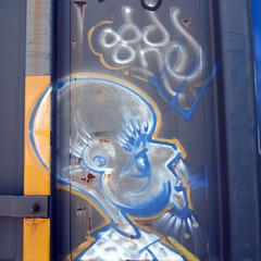 ODD ONE (TRUE 2 DEATH) Tags: railroad train graffiti fb tag graf trains railcar spraypaint boxcar railways railfan freight lords freighttrain tfl rollingstock oddone benching freighttraingraffiti