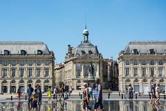 Place de la Bourse Bordeaux 2 (Ch.Neis) Tags: street city france town reflex nikon 33 cit bordeaux route stadt nikkor dslr ville afs dx aquitaine gironde strase 18105mm d5200 photographedandcopyrightbychristophneis