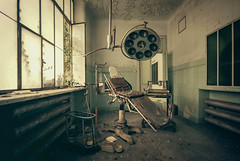 Check up (Camera_Shy.) Tags: old light urban italy abandoned insane chair nikon italia theatre decay room exploring eerie creepy forgotten r di disused explorers exploration asylum derelict operating abandonment decayed ue manicomio mental urbex d600 vsco