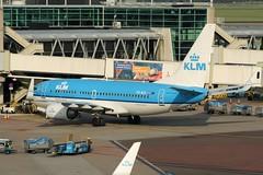 PH-BGL (IndiaEcho Photography) Tags: netherlands dutch amsterdam canon eos airport aircraft royal boeing klm ams 737 airfield eham 1000d phbgl