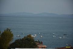 Fishing Boats (aswaqbilaqa) Tags: sea mountains boats fishing istanbul turki