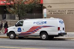 DC Police (So Cal Metro) Tags: ford washingtondc washington cops police cop policecar van interceptor copcar paddywagon eseries e350