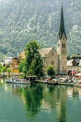 Hallstatt lake (toksikosmos) Tags: austria landscapes viajes ontheroad hallstatt travelphotography 500px verano2012