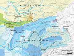 River basins /   (Zoi Environment Network) Tags: lake afghanistan water ecology river map country border basin communication national area environment geography tajikistan uzbekistan kyrgyzstan  territory  ansu hydrology  zarafshan  tnc  syrdarya    amudarya   vakhsh   sarez                 argli