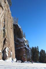 IMG_0333 (mantyharjurepovesi) Tags: suomi lumi talvi mets kansallispuisto mntyharju jrvi repovesi talvinen repoveden lumikenkily talvimets