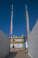 Wutong monastery near Rebgong-Tongren (newmansm) Tags: china tibet monastery amdo wutong tongren rebgong
