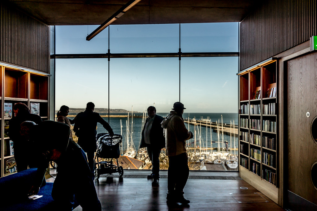 New Public Library In Dun Laoghaire, Officially Called DLR Lexicon Opened To The Public Today And It Is Worth Visiting Ref-100530