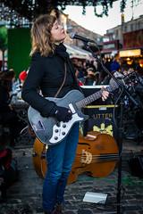 Brooke Sharkey in Camden HC9Q3700-1 (rodwey2004) Tags: artist streetphotography singer guitarist songwriter camdenstables onedress brookesharkey