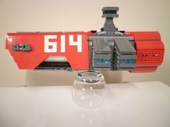 Spaceship. (Callum [Morpion]) Tags: classic movie dc ship lego space creation batman benny spaceship minifig marvel bionicle emmett minifigure moc 2014 mocpages shiptember