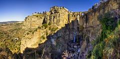 El Tajo, Ronda (E) (Panoramyx) Tags: panorama españa andalucía spain andalucia ronda panoramica tajo andalusien espagne hdr spanien spagna málaga spanje espanya