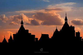 Silhouettes of the Royal Horseguards
