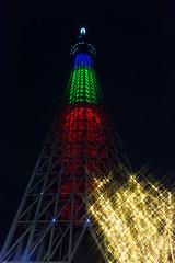 Sky Tree Special Light up & Xmas Illumination! -Winter Illumination 2014-2015 (Narihira, Tokyo, Japan) (t-mizo) Tags: christmas xmas light japan night canon tokyo illumination   canon5d sumida  lr lightroom  sumidaku     oshiage canon2470mm skytree canon2470mmf4l  narihira canon2470mmf4 eos5d3 ef2470mmf4lisusm lr5 ef2470mmf4l  tokyoskytree canon2470f4l eos5dmarkiii 5d3  canon2470f4 5dmark3 canon5d3 lightroom5 canon247