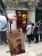 Luvaria Ulysses, was an old historic glove maker we found in The Chiado area. In The world we live in today, such handcrafted shops are hard to find.