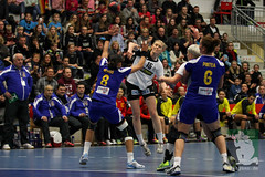 "EHF Damen Deutschland vs. Rumänien 30.11.2014 005.jpg • <a style=""font-size:0.8em;"" href=""http://www.flickr.com/photos/64442770@N03/15913793831/"" target=""_blank"">View on Flickr</a>"
