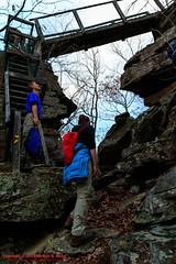 Twin Rocks Overblown (mikerhicks) Tags: usa fall geotagged photography unitedstates hiking tennessee milo cumberlandtrail springcity tennesseestateparks pineyriver edgewoodhills cumberlandtrailstatepark sigma18250mmf3563dcmacrooshsm canoneos7dmkii twinrocksoverlook geo:lat=3570950167 geo:lon=8488309500 lowerpineyriversection pineyriversegment