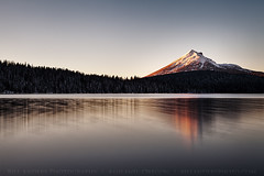McLoughlin Clear Sunset (bill_anders) Tags: sunset weather clouds oregon forest season unitedstates national cascades northamerica geography landforms lakeofthewoods billanders klamathcounty mtmcloughlin fremontwinema billandersphotocom