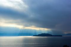 St. Peter's Island (Bephep2010) Tags: sun lake schweiz switzerland see cloudy sony bern alpha sonne 77 twann bielersee bewölkt lacdebienne stpetersisland lakebiel stpetersinsel lakebienne sal35f18 slta77v lilestpierre twanntüscherz douannedaucher