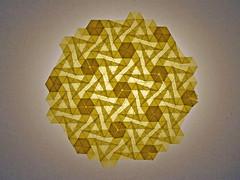 Pinwheel (mganans) Tags: origami tessellation