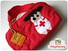 Farmacinha (Carol Grilo • FofysFactory®) Tags: red bag handmade craft felt vermelho carolgrilo polkadots nurse feltro bolsa poás enfermeira fofysfactory nécessaire