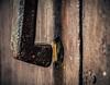 Hammer to Fall (Walimai.photo) Tags: door wood color colour metal spain puerta madera nikon knocker salamanca viñeta 18105 candelario aldaba llamador vignete d7000