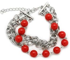 Sunset Sightings Red Bracelet P9712A-1