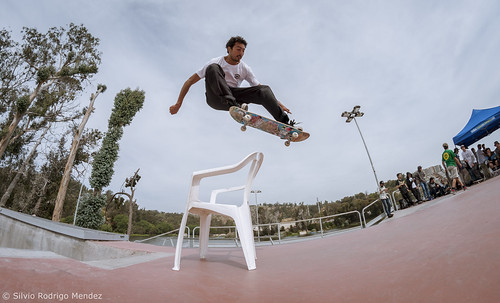 Bastian Figueroa - Ollie over chair