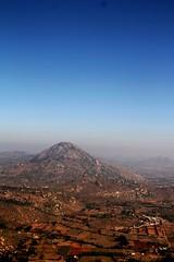 Nandi Hills - View From Top - 1!!! (Natesh Ramasamy) Tags: india mountain slr trekking trek canon photography photo ancient hill picture pic nandi karnataka fortress canoneos natesh ramasamy 550d arkavathy t2i chikkaballapur canon550d canont2i canonkissx4 ramnaganat