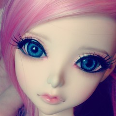 I'm thinking she needs a pink wig, maybe a white chunk highlight. Her name's Gale. :) She got a name before my Obitsu lol. #bjd #goldie #peakswoods #cutie #doll #love #obsessed #dollstagram #ashgutz (AshGUTZ) Tags: square nashville squareformat iphoneography instagramapp uploaded:by=instagram