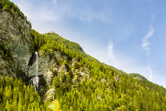Dolach Waterfall (Raoul Pop) Tags: autumn trees sky mountains alps fall colors stone canon austria waterfall rocks afternoon altitude cliffs falling canoneos5d