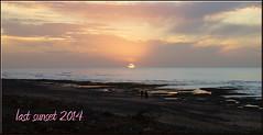good bye 2014 (mhobl) Tags: sunset beach maroc silvester marokko sidiifni