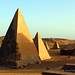 Meroe Royal Cemetery - at the northern group