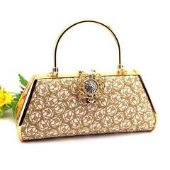 กระเป๋าคลัชออกงาน กระเป๋าถือผู้หญิงแฟชั่นเกาหลีหรูหราเข้าชุดราตรีและงานแต่ง นำเข้า ลายคริสตัลบอล สีทอง AP2546 - พร้อมส่ง ราคา1500฿ กระเป๋าถือแฟชั่น สำหรับผู้หญิงที่ต้องสวยครบเซทสีทองอร่ามแบบกระเป๋าแบรนด์ดังต้องกระเป๋าออกงานราตรีสไตล์คลัทช์และกระเป๋าไปงานแ