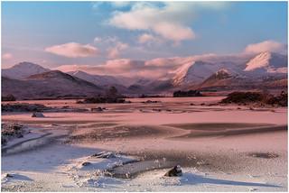 -5° Setting Sun on Loch Tulla
