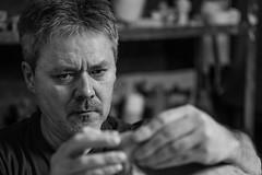 2015-01-M Monochrom-L1002513-web (Meine Sicht) Tags: portrait bw skulptur sw monochrom schwarzweiss ton projekt knstler bergischgladbach fotokunst rauen leicam modellieren wwwrauenfotode norbertkaluza