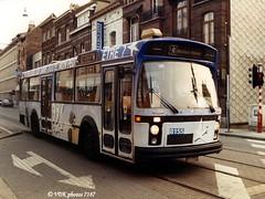 8155-071870 (VDKphotos) Tags: volvo pub belgium bruxelles werbung autobus jonckheere stib mivb l43 b5955