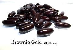 #กลูต้าbrownie gold 70000 mg