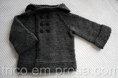 Casaquinho Beb Comportado (tric em prosa) Tags: baby sweater beb cardigan seamless casaco suter semcostura cardig