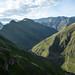 Belas montanhas colombianas