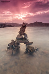 Beautiful Sunset from Yiti beach (mahernaamani) Tags: longexposure sunset sea seascape beach beautiful beauty canon wow landscape photography photo amazing long exposure photographer outdoor filter shutter scape oman muscat longshutter 6d       yiti  ilovemycountry a  yitibeach canon6d   myoman
