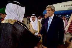 Secretary John Kerry Greets Saudi Arabia Foreign Minister Adel al-Jubeir and Saudi Officials at Jeddah International Airport (U.S. Department of State) Tags: jeddah johnkerry saudiarabia josephwestphal adelaljubeir muhammadbinnayef