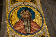 2016-05 Mosaics Phase XI Installation 013A1250 (Greek Orthodox Church of the Holy Cross) Tags: california church greek us belmont mosaic orthodox iconography tonelli