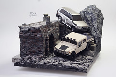 Mini-z Overland Diorama_03 (My Scale Passion) Tags: wallpaper art scale car truck poster one high model hand modeling handmade unique quality free kind collection made climbing installation passion toyota land resolution hd collectible hq custom hummer h1 crawling rc rare cruiser diorama collecting overland crawler miniz defenition myscalepassion