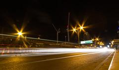 Roads of London (9 of 18) (johnlinford) Tags: city longexposure england urban london night landscape lights poplar unitedkingdom 7d gb docklands canonefs1022 canoneos7d