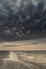 Jekyll Island (Jeremy Duguid) Tags: ocean morning travel beach nature lines clouds sunrise georgia point island dawn coast early flickr waves sony jeremy southeast jekyll southeastern duguid