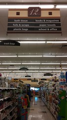 Aisle 12 Full View (Retail Retell) Tags: kroger grocery store clarksdale ms retail script dcor greenhouse build