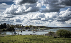 Rutland Water (Steve Millward) Tags: england sky cloud nature water grass season boats 50mm countryside nikon scenery raw sailing leicestershire outdoor perspective sharp d750 rutland fullframe fx rutlandwater primelens imagequality fixedfocallength