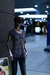 Street Shadow (H.H. Mahal Alysheba) Tags: street japan night nikon snapshot yokohama nikkor afs apparel d800 58mmf14