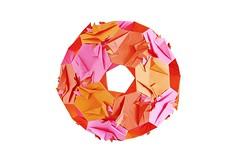 Cyrenaica Kusudama (Byriah Loper) (Byriah Loper) Tags: paper origami modular polygon paperfolding polyhedron origamimodular modularorigami kusudama pentagonal icosahedral byriahloper